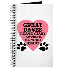 Great Dane Pawprints Journal