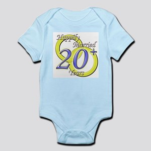 """Twentieth Anniversary"" Infant Creeper"