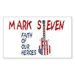 Mark Steven Rectangle Sticker