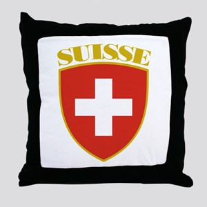 Suisse Throw Pillow