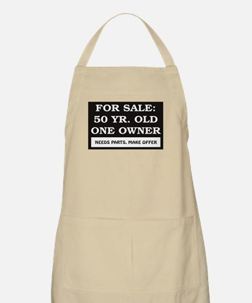 For Sale 50 Year Old Birthday Apron
