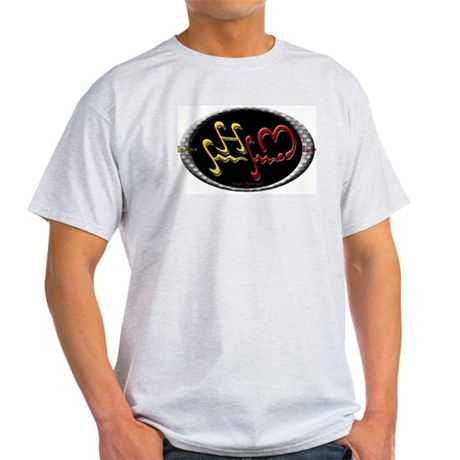 Alibata Inner Strength Ash Grey T-Shirt
