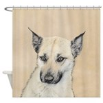 Chinook (Pointed Ears) Shower Curtain