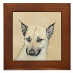 Chinook (Pointed Ears) Framed Tile