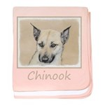 Chinook (Pointed Ears) baby blanket