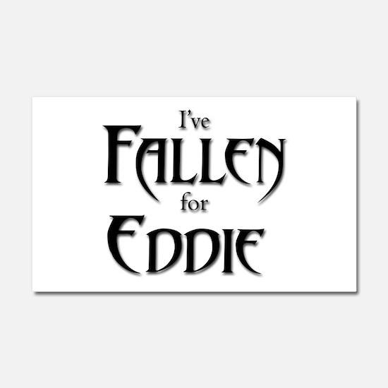 I've Fallen for Eddie Car Magnet 20 x 12