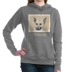Chinook (Pointed Ears) Women's Hooded Sweatshirt