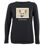 Chinook (Pointed Ears) Plus Size Long Sleeve Tee