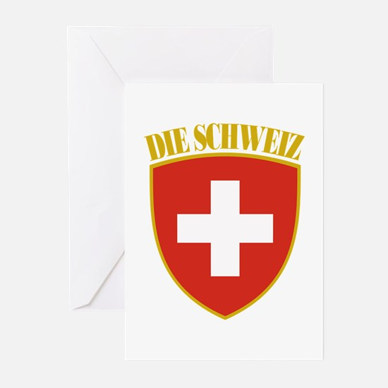 Die Schweiz Greeting Cards (Pk of 10)