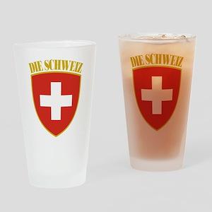 Die Schweiz Drinking Glass