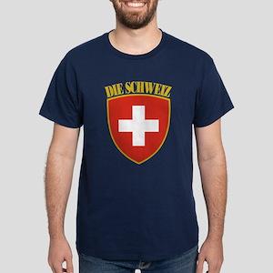 Die Schweiz Dark T-Shirt