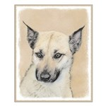 Chinook (Pointed Ears) Small Poster