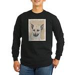 Chinook (Pointed Ears) Long Sleeve Dark T-Shirt