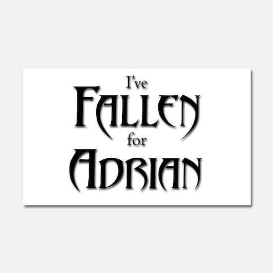 I've Fallen for Adrian Car Magnet 20 x 12
