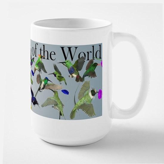 Hummingbirds of the World Large Mug