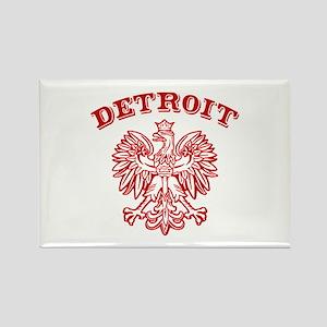 Detroit Polish Rectangle Magnet