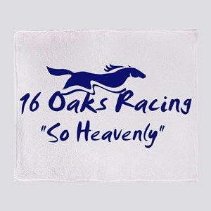 16 Oaks Throw Blanket