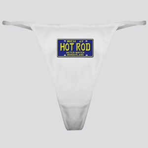 Hot Rod License Plate Classic Thong