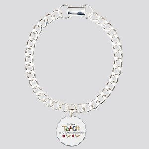 To Teach Charm Bracelet, One Charm