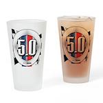 5.0 50 RWB Drinking Glass