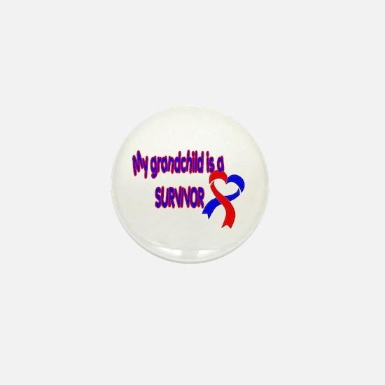 grandchild_CHD_Survivor Mini Button