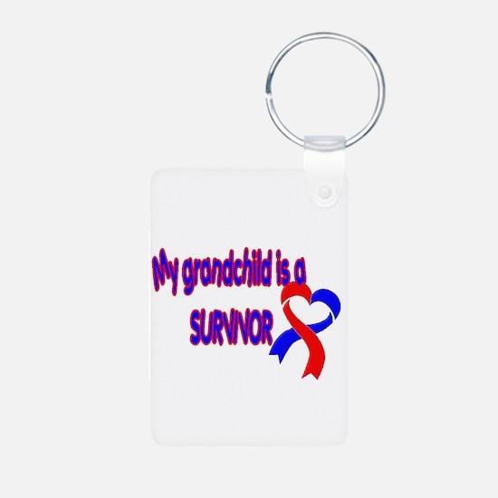 grandchild_CHD_Survivor Keychains