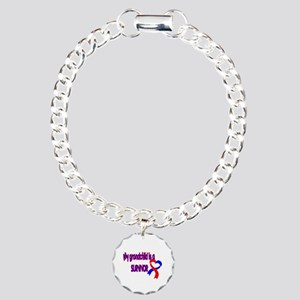 grandchild_CHD_Survivor Charm Bracelet, One Charm
