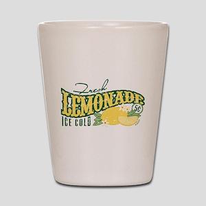 Fresh Lemonade Shot Glass