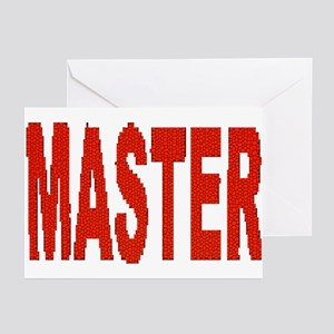 MASTER_RED MOSAIC LOOK Greeting Cards (10PK