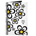 Daisy Notes White Journal