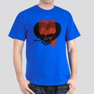 Nevada State Hug Dark T-Shirt