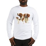 Brittany spaniel Long Sleeve T-shirts