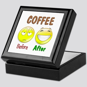 Coffee Humor Keepsake Box