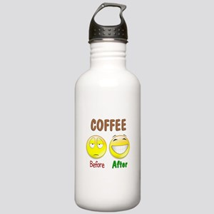 Coffee Humor Stainless Water Bottle 1.0L