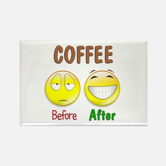 Coffee Humor Rectangle Magnet