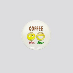 Coffee Humor Mini Button