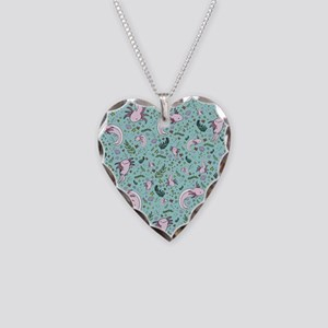 Axolotls Necklace Heart Charm