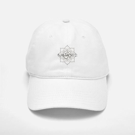 Namaste Om Baseball Baseball Cap