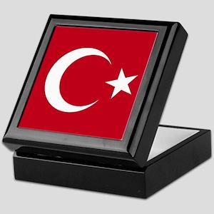 Turkish Flag Keepsake Box