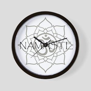 Namaste Om Wall Clock