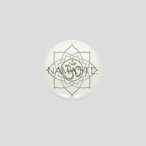 Namaste Om Mini Button