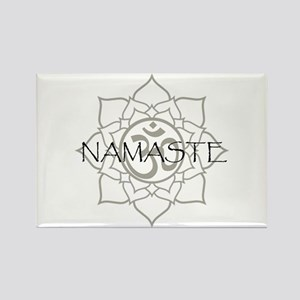Namaste Om Rectangle Magnet