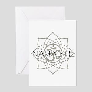 Namaste Om Greeting Card