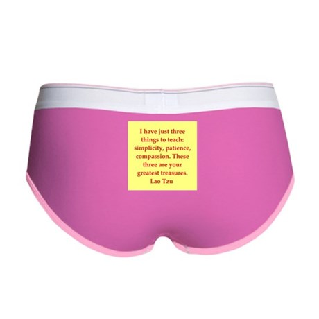 Lao Tzu Women's Boy Brief