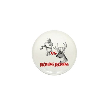 Hunting or Football? Mini Button