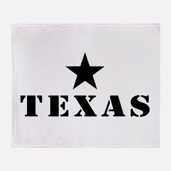 Texas, Lone Star State Throw Blanket