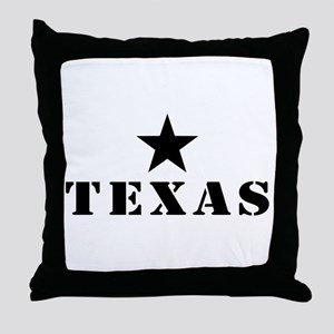 Texas, Lone Star State Throw Pillow