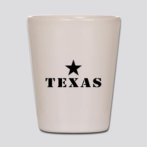 Texas, Lone Star State Shot Glass