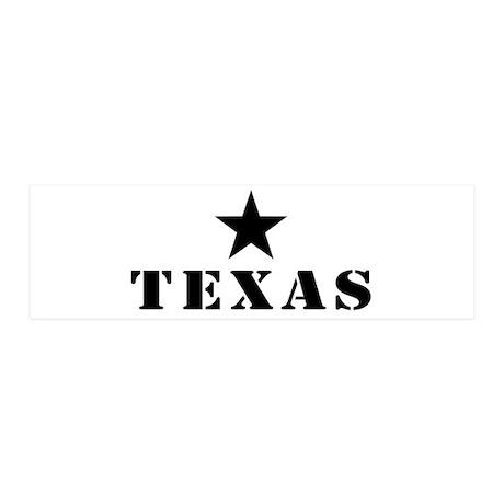 Texas, Lone Star State 21x7 Wall Peel