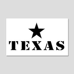 Texas, Lone Star State 22x14 Wall Peel